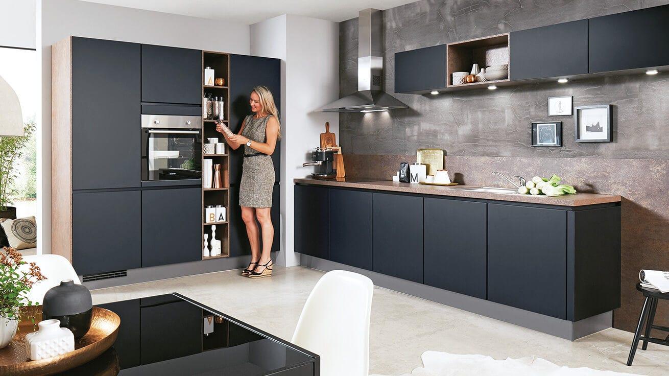 moderne küchen - klare linien und puristisches design   leiner