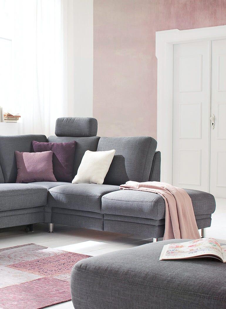 Wohnzimmer Einrichten Ein Sofa Drei Ideen Leiner
